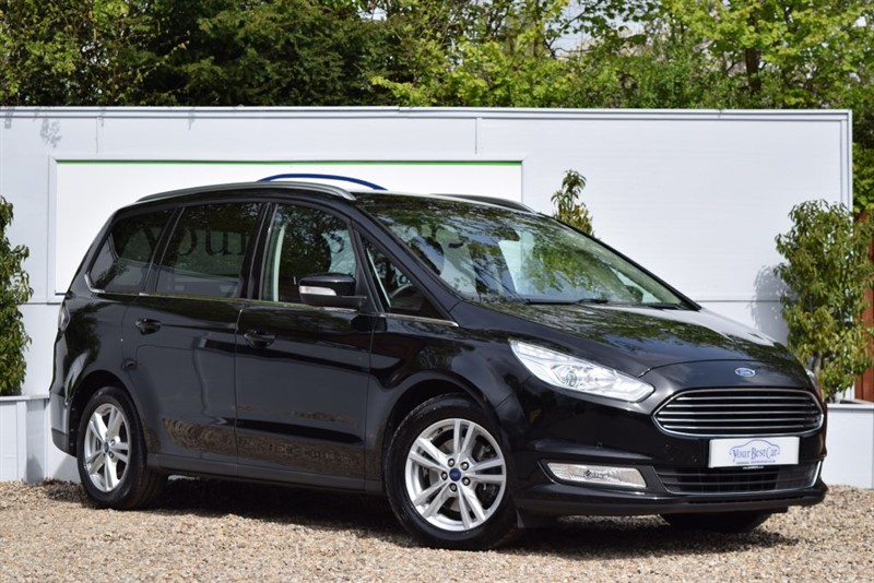 used Ford Galaxy TITANIUM TDCI with Sat Nav in cranbrook-common-kent
