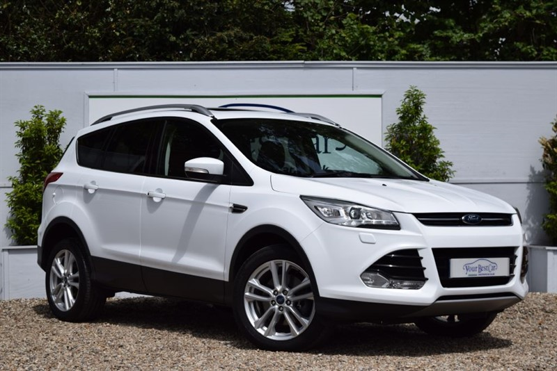 used Ford Kuga TITANIUM X TDCI with Full Leather in cranbrook-common-kent