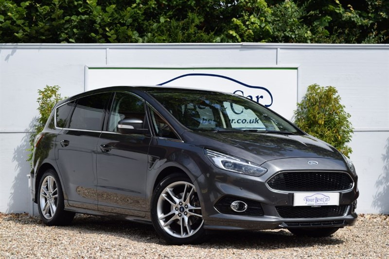 used Ford S-Max TITANIUM SPORT TDCI 180ps with Panoramic Sunroof & X Pack in cranbrook-common-kent