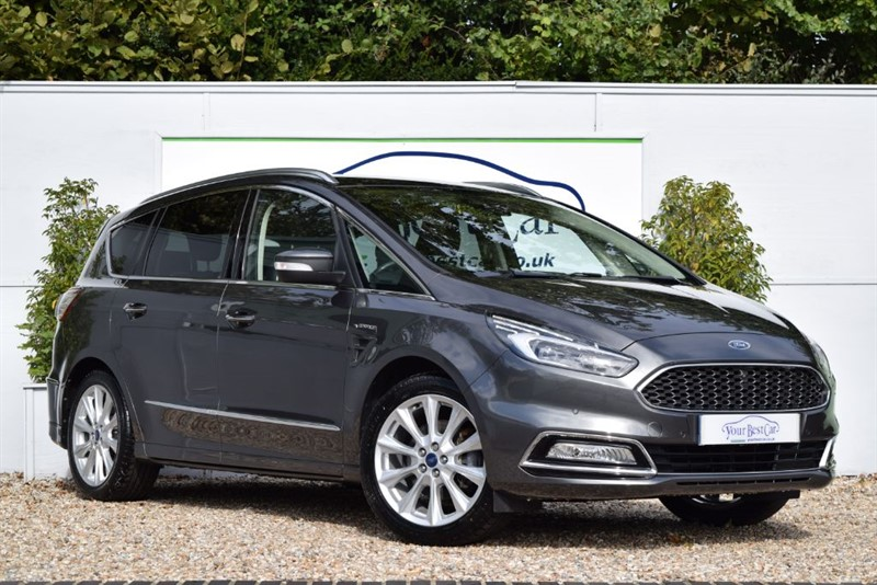 used Ford S-Max VIGNALE TDCI (ADAPTIVE CRUISE + SURROUND CAM) in cranbrook-common-kent