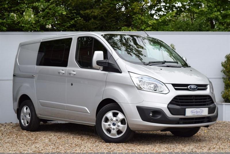 used Ford Transit Custom 290 LIMITED LR DCB in cranbrook-common-kent