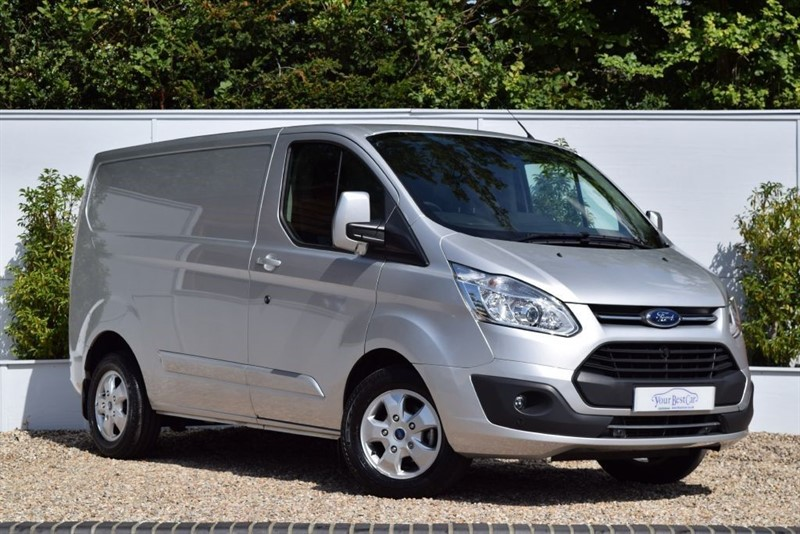 used Ford Transit Custom 290 LIMITED LR P/V *EURO 6* in cranbrook-common-kent