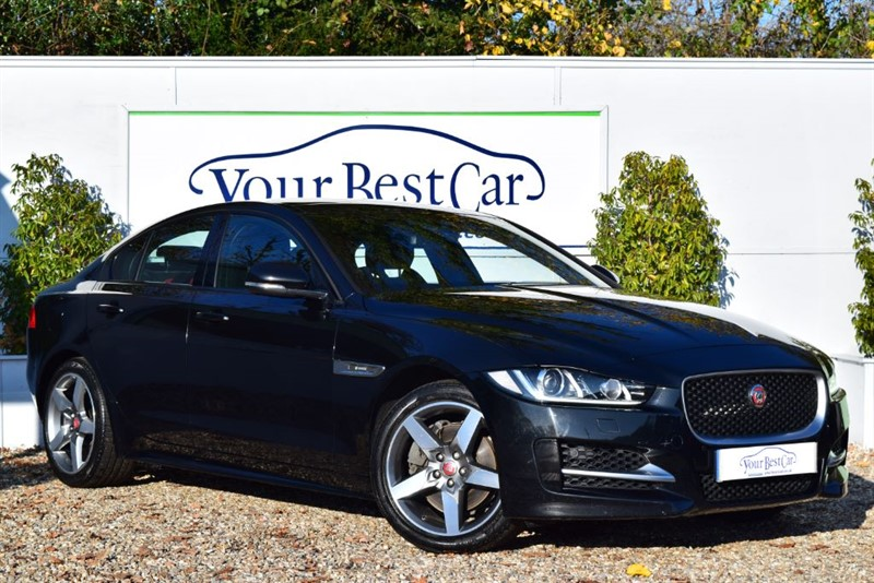 used Jaguar XE R-SPORT (SUNROOF + HEATED SEATS + HEATED STEERING WHEEL) in cranbrook-common-kent