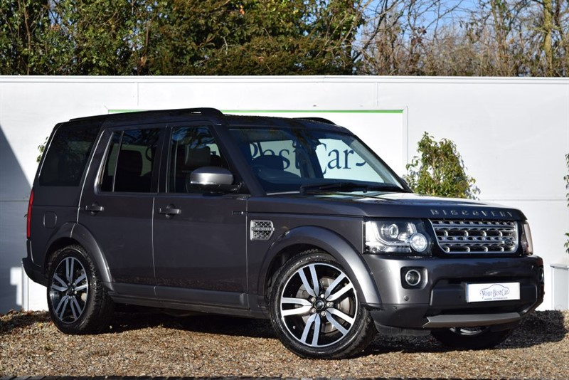 used Land Rover Discovery SDV6 HSE LUXURY (One Owner + FLRSH) in cranbrook-common-kent