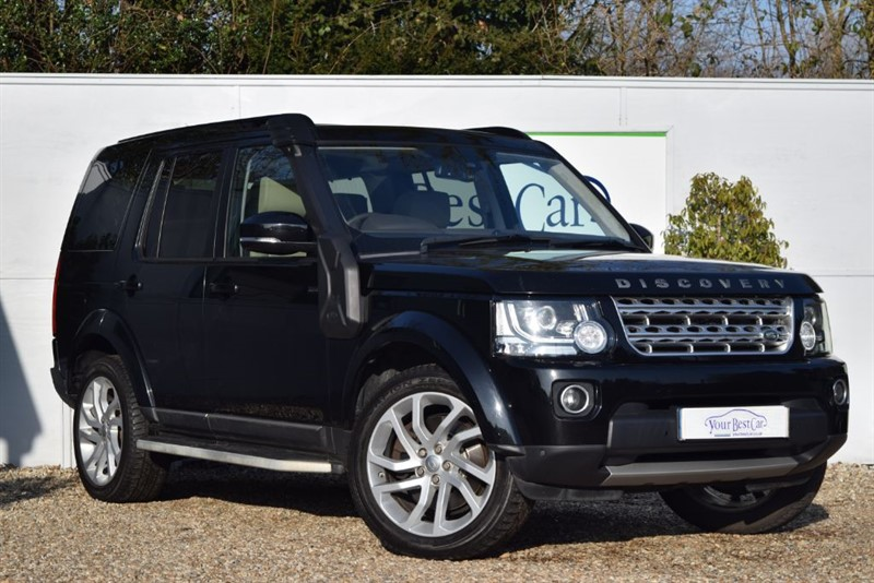 used Land Rover Discovery SDV6 HSE LUXURY (REAR DVDs + SUNROOF) in cranbrook-common-kent