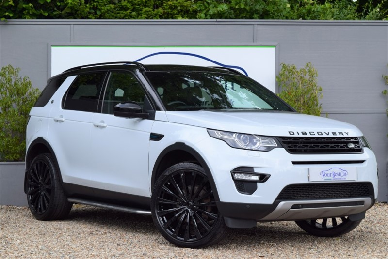 used Land Rover Discovery Sport SD4 HSE in cranbrook-common-kent