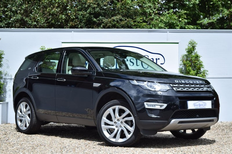 used Land Rover Discovery Sport TD4 HSE LUXURY in cranbrook-common-kent
