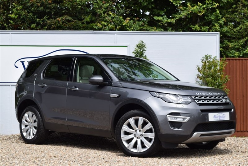 used Land Rover Discovery Sport SD4 HSE LUXURY (ONE PRIVATE OWNER + FULL LR HISTORY) in cranbrook-common-kent