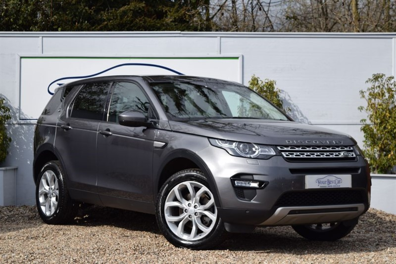used Land Rover Discovery Sport TD4 HSE (One Owner + Privacy Glass) in cranbrook-common-kent