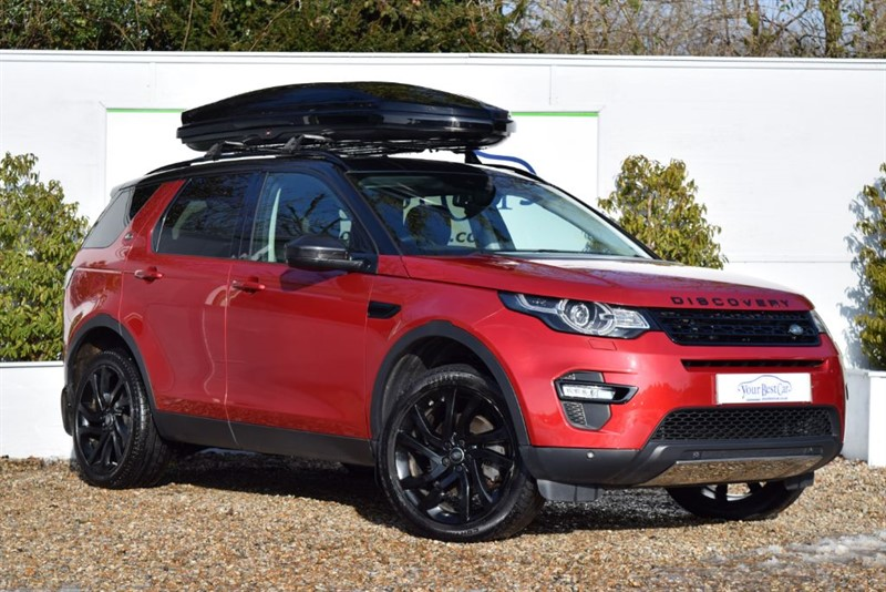 used Land Rover Discovery Sport TD4 HSE BLACK in cranbrook-common-kent