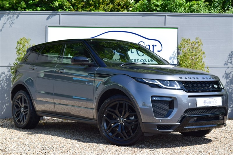 used Land Rover Range Rover Evoque TD4 HSE DYNAMIC in cranbrook-common-kent