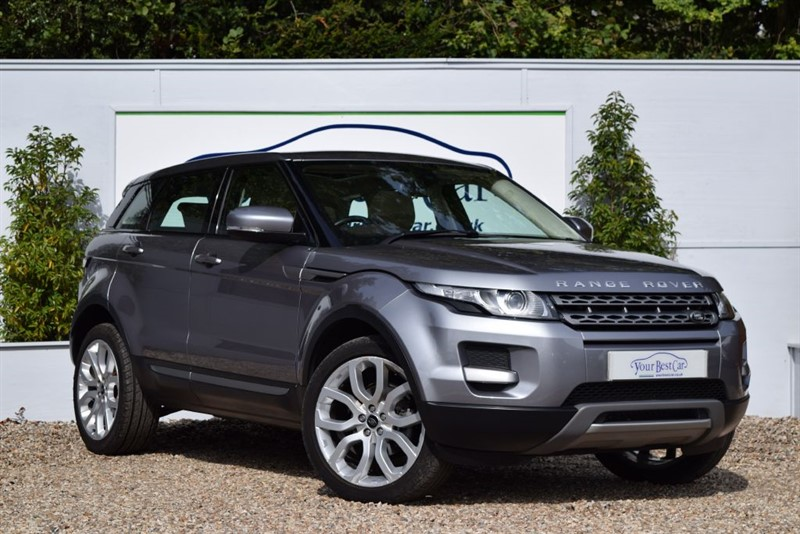 used Land Rover Range Rover Evoque SD4 PURE TECH 4x4 (PANORAMIC SUNROOF + SAT NAV) in cranbrook-common-kent