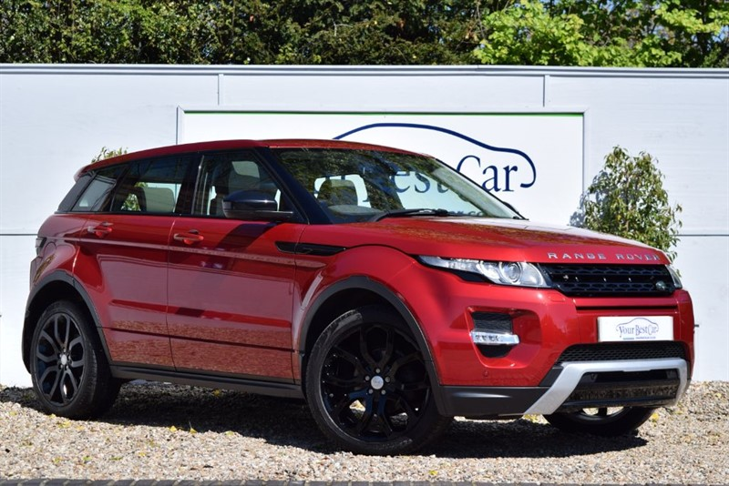 used Land Rover Range Rover Evoque SD4 DYNAMIC in cranbrook-common-kent