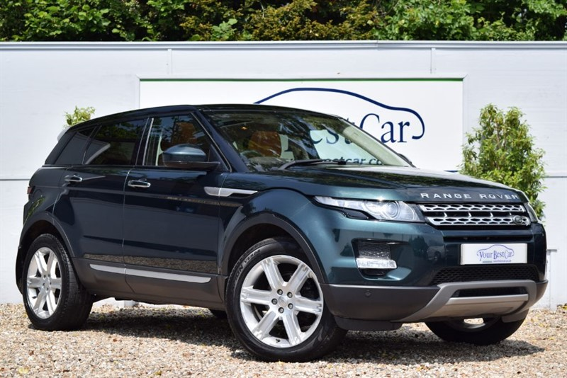 used Land Rover Range Rover Evoque SD4 PRESTIGE in cranbrook-common-kent