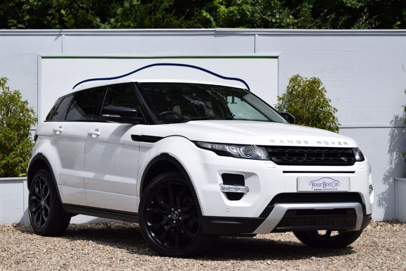 used Land Rover Range Rover Evoque SD4 DYNAMIC with PANORAMIC SUNROOF in cranbrook-common-kent