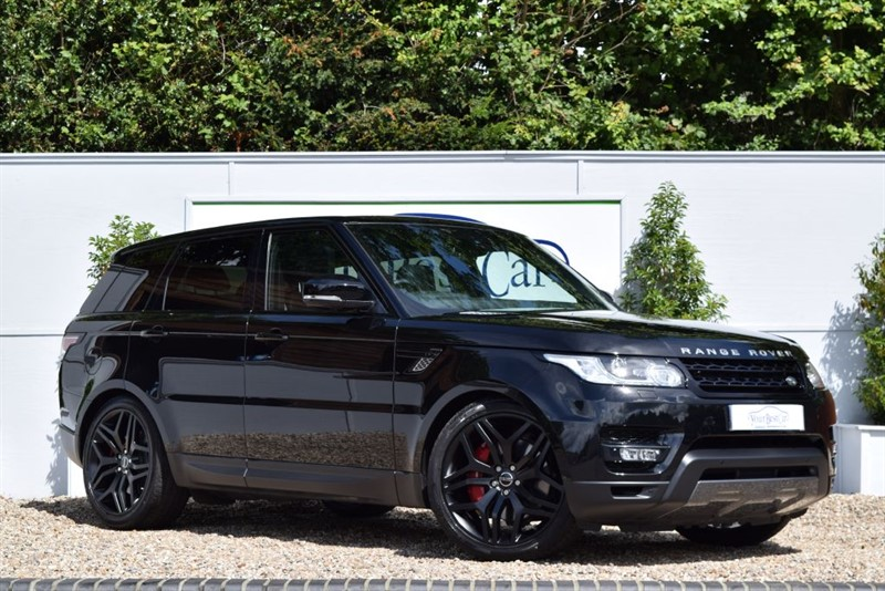 used Land Rover Range Rover Sport SDV6 HSE DYNAMIC with STEALTH WHEELS + PANORAMIC SUNROOF in cranbrook-common-kent