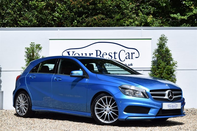 used Mercedes A200 CDI BLUEEFFICIENCY AMG SPORT with SAT NAV in cranbrook-common-kent