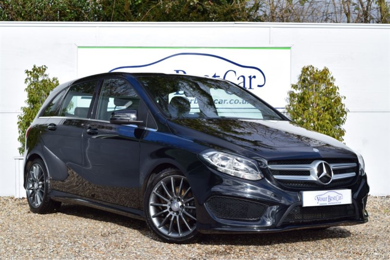 used Mercedes B180 CDI AMG LINE PT LEATHER+REVERSE CAM+£20 TAX in cranbrook-common-kent