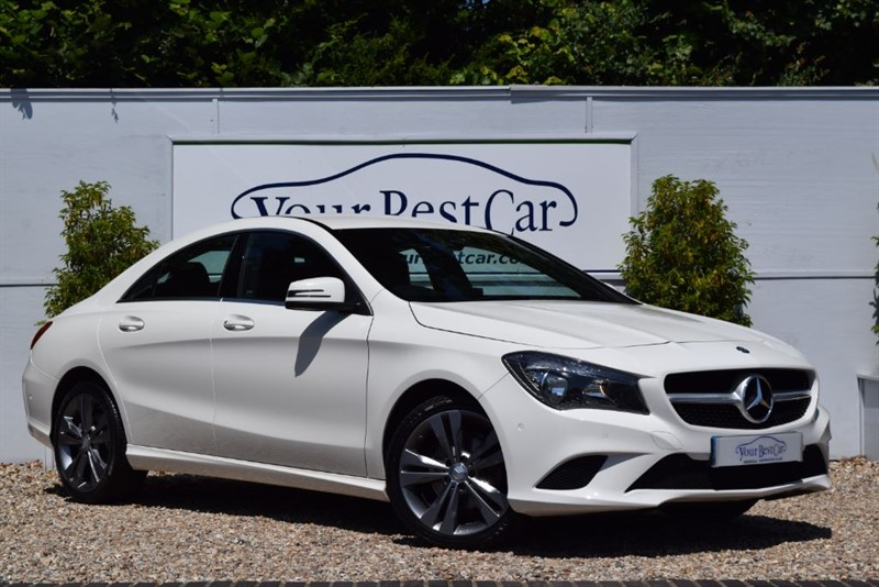 used Mercedes CLA 220 CDI 220d SPORT (SAT NAV + HEATED LEATHER SEATS) in cranbrook-common-kent
