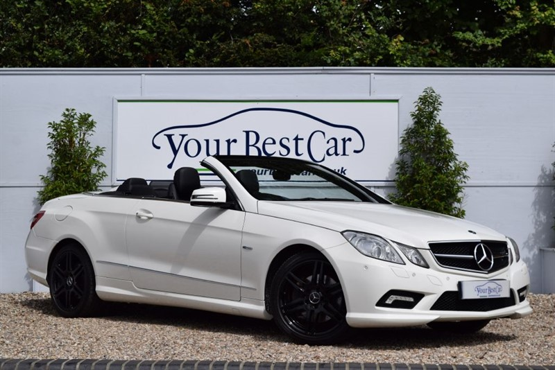 used Mercedes E350 CDI BLUEEFFICIENCY SPORT in cranbrook-common-kent