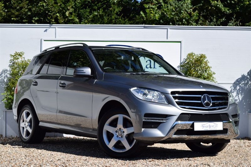 used Mercedes ML350 BLUETEC AMG SPORT (EURO 6 + COMMAND SAT NAV + ADAPTIVE CRUISE CONTROL) in cranbrook-common-kent