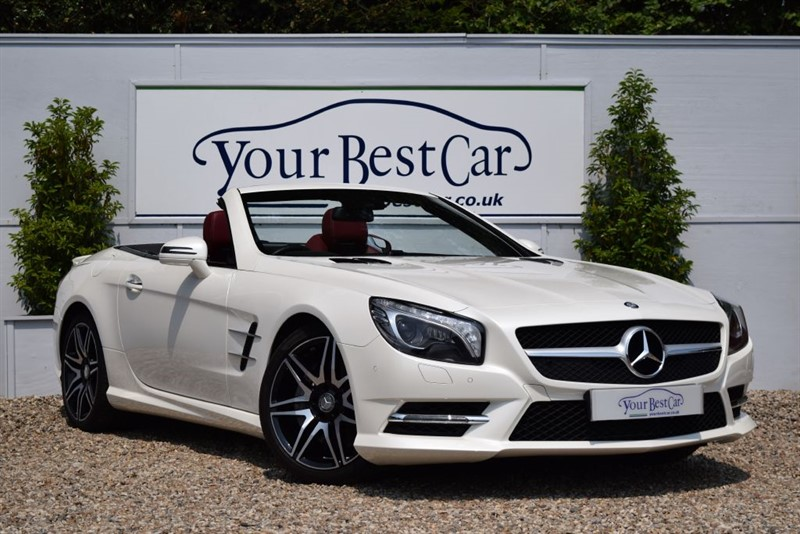 used Mercedes SL SL400 AMG SPORT (Full Mercedes Benz History + Private Owner + Options) in cranbrook-common-kent