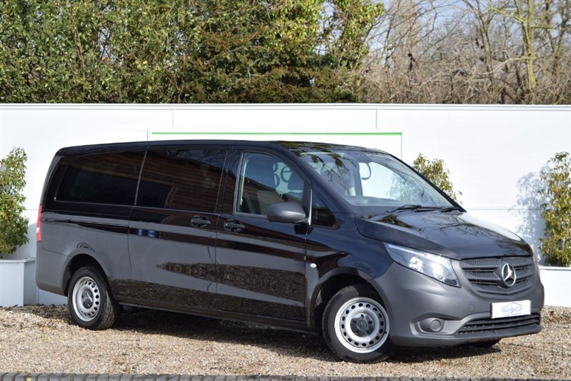 used Mercedes Vito 114 BLUETEC TOURER PRO 9 SEATER in cranbrook-common-kent