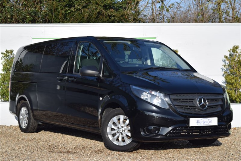 used Mercedes Vito 114 BLUETEC TOURER SELECT (EXTRA LONG + 9 SEATS)  in cranbrook-common-kent