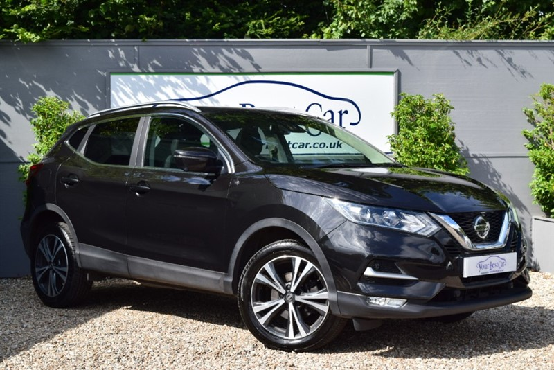 used Nissan Qashqai N-CONNECTA DIG-T in cranbrook-common-kent