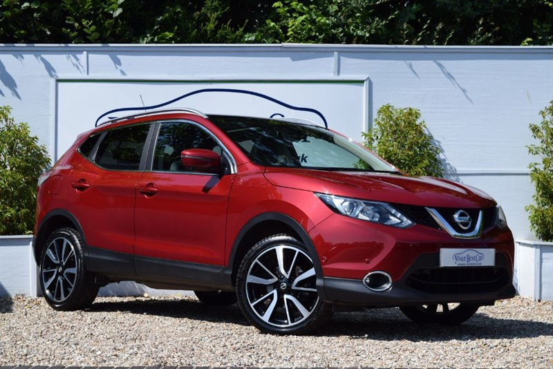 used Nissan Qashqai DCI TEKNA with PANORAMIC SUNROOF in cranbrook-common-kent