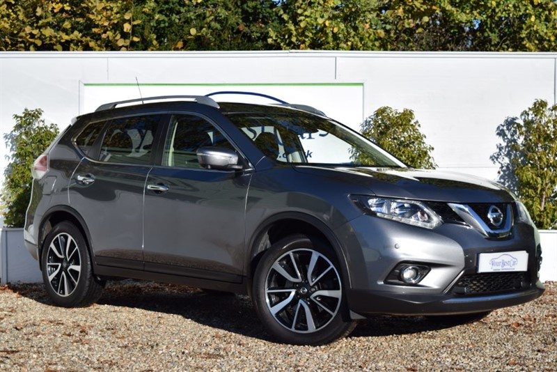 used Nissan X-Trail DCI N-TEC (SUNROOF + 4x4 + 7 SEATS) in cranbrook-common-kent