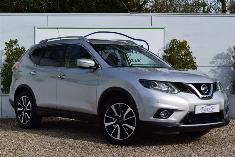 used Nissan X-Trail Tekna 4WD (s/s) 5dr (7 Seats) in cranbrook-common-kent