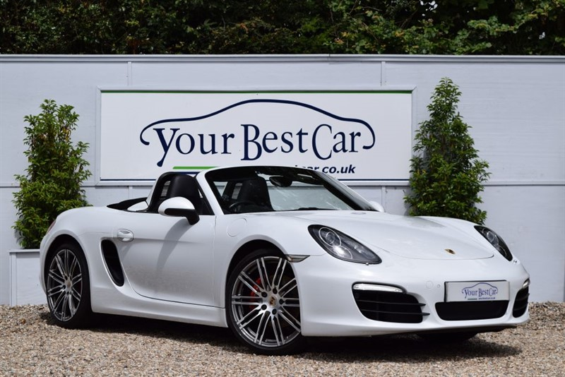 used Porsche Boxster 24V S PDK - Sat Nav, Sport Chrono Package, Xenons and more in cranbrook-common-kent