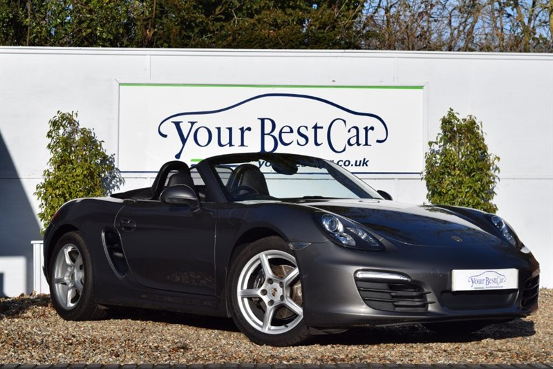 used Porsche Boxster 2.7 24V (265bhp Flat 6 Manual Gearbox) in cranbrook-common-kent