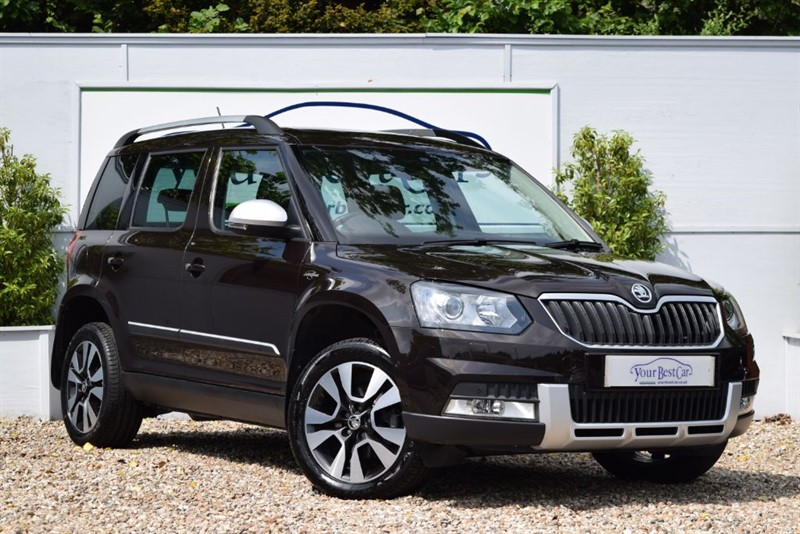 used Skoda Yeti OUTDOOR LAURIN AND KLEMENT TDI DSG SCR in cranbrook-common-kent