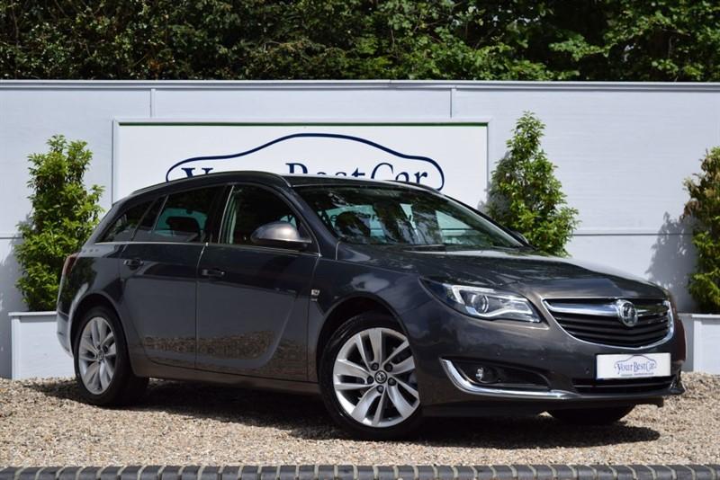 used Vauxhall Insignia SRI NAV CDTI with SAT NAV in cranbrook-common-kent