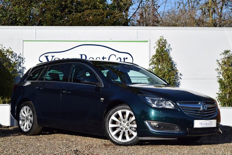used Vauxhall Insignia ELITE NAV CDTI ECOFLEX S/S in cranbrook-common-kent