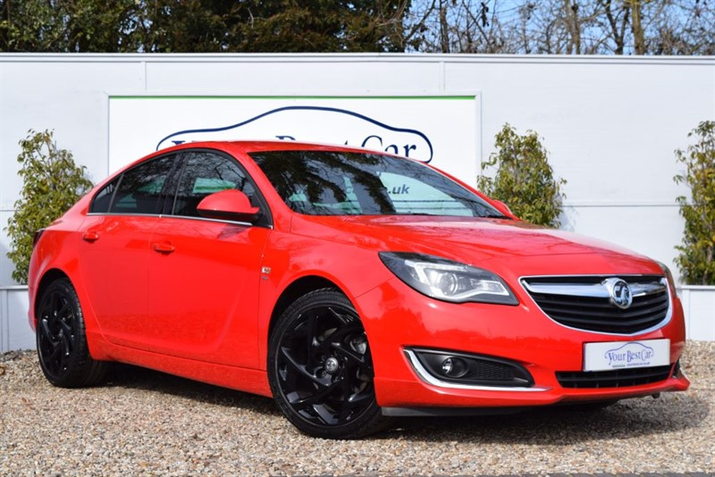 used Vauxhall Insignia SRI NAV VX-LINE CDTI with Full Leather in cranbrook-common-kent