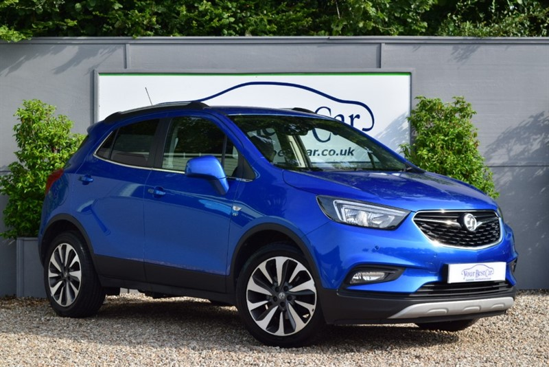 used Vauxhall Mokka X ELITE NAV CDTI S/S in cranbrook-common-kent