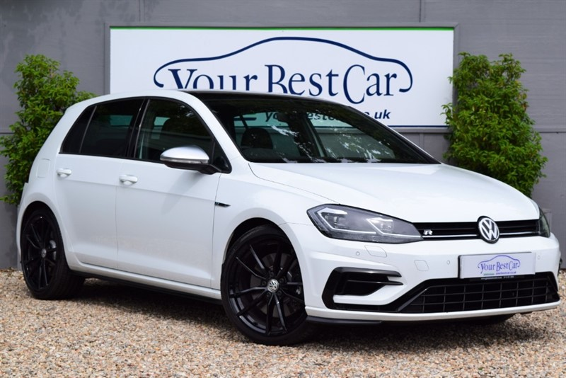 used VW Golf R TSI 4MOTION DSG in cranbrook-common-kent