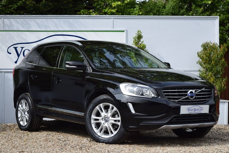 used Volvo XC60 D5 SE LUX NAV AWD with Winter Pack in cranbrook-common-kent