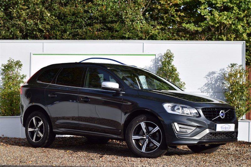 used Volvo XC60 D5 R-DESIGN NAV AWD in cranbrook-common-kent
