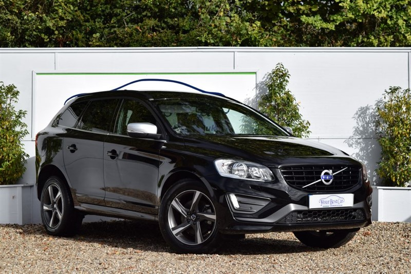 used Volvo XC60 D5 R-DESIGN NAV AWD (LEATHER + WINTER PACKS) in cranbrook-common-kent