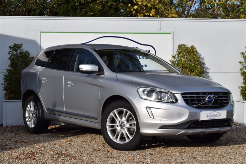 used Volvo XC60 D5 SE LUX NAV AWD (FSH WITH VOLVO, HEATED SEATS + NEW TYRES ALL AROUND) in cranbrook-common-kent