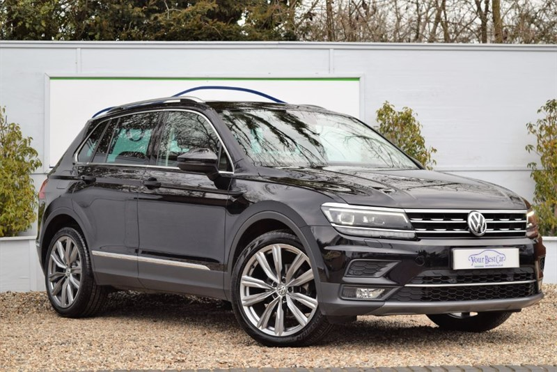 used VW Tiguan SEL TDI BMT 4MOTION DSG (VIENNA LEATHER SEATS) in cranbrook-common-kent