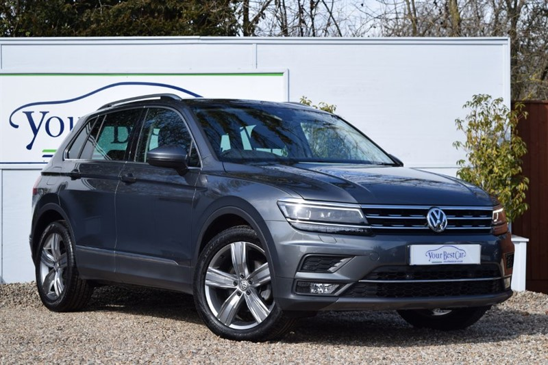 used VW Tiguan SEL TDI BLUEMOTION TECHNOLOGY DSG (Vienna Leather Seats) in cranbrook-common-kent