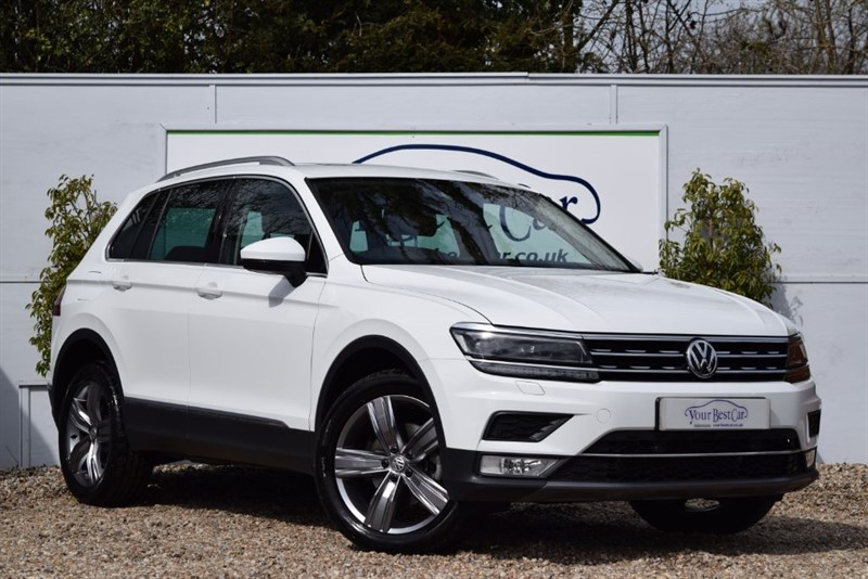 used VW Tiguan SEL TDI BMT 4MOTION DSG in cranbrook-common-kent