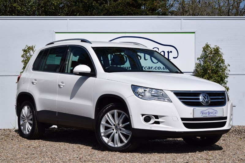 used VW Tiguan MATCH TDI BLUEMOTION TECHNOLOGY in cranbrook-common-kent