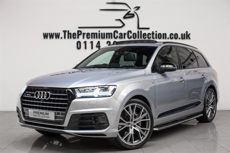 used Audi Q7 TDI QUATTRO S LINE PAN ROOF BLACK PACK 22'S ONE OWNER