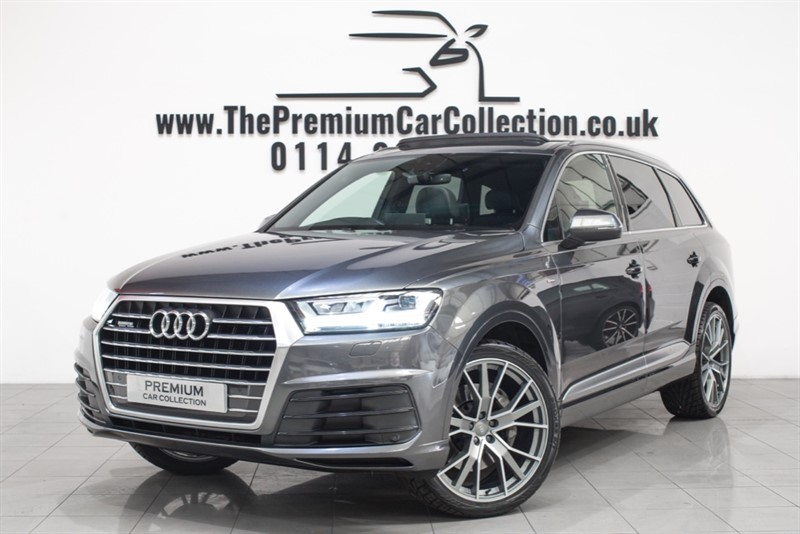 used Audi Q7 TDI QUATTRO S LINE PAN ROOF SAT NAV ONE OWNER